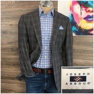 Joseph Abboud Sport Coat Blazer Two Wool Button